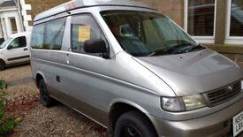 Mazda Bongo 2.5td 4x4 12 months MOT Lovely camper/Surf van