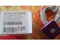 iPod shuffle 2GB purple