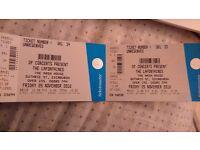2x LaFontaines Tickets, Edinburgh, Friday 25th