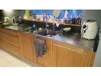 Double sink stainless steel
