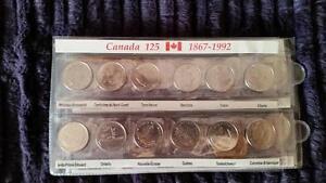 25 cents set 1992 or 1999 or 2000 and olympic Gatineau Ottawa / Gatineau Area image 1