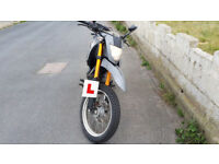 2014 Keeway TX125 for sale - £1350 (including helmet, jacket and chain lock)