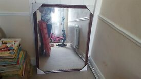 Large mirror 33inches x43 inches