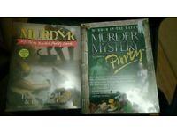 2 murder mystery games brand new