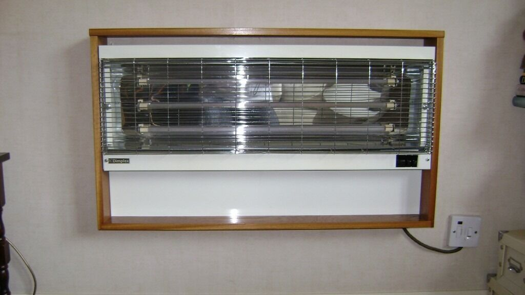 Heaters Wall Mounted 3 Bar Electric Fire Convector Heater