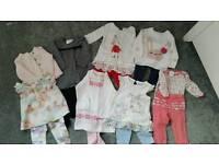 Girls clothes bundle 3-6mths