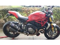 DUCATI MONSTER 1200S 2017 17 plate 150BHP LOADS OF EXTRAS EXCELLENT CONDITION!!!
