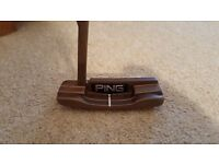 Ping anser 5 putter. Right handed. Straight arc. Great condition