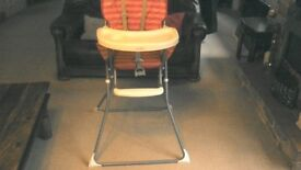 High chair, in good condition