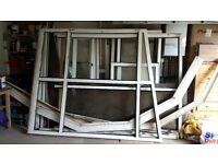 Double glazed aluminium conservatory.