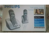 Cordless Phones Philips with answer mashine