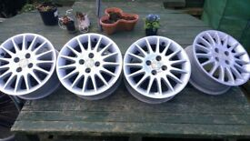 16 INCH HONDA CIVIC SPORT ALLOY WHEELS ONLY £40 THROSK STIRLINGSHIRE