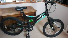 Silverfox Vault Child's bike 20""