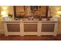 Bespoke Hand Painted Radiator Cabinet