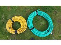 Garden water hose x2