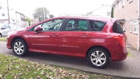 Reduced - Peugeot 308 2.0 HDi SW SE (09) 7 seats