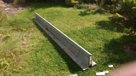 GALVANIZED STEEL LINTEL - IN GOOD CONDITION - USED