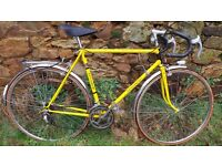 "Vintage Old French Motoconfort ""Special Racing"" Men's Yellow Racing Touring Bike"