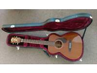 Guild M-120 Guitar with fishman pickup and hard case-like New