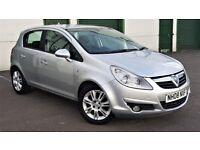 Vauxhall Corsa 1.3 CDTi 16v DESIGN 5 Dr A/C 108k FSH NEW Clutch/Dual Mass 08 Reg MOT: 01.08.18