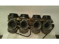 Suzuki GSX 750 carburettors. Cleaned and ready for use ,very good condition,