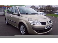 7 SEATER RENAULT GRAND SCENIC 1.6 MANUAL IN EXCELLENT CONDITION. I YEAR MOT. FULL SERVICE HISTORY