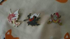 3 pokemon pins