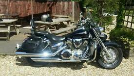 Honda vtx 100 cruiser only 6000 miles may px swap