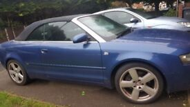 Audi a4 spares or repaires