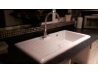 Franke white kitchen sink