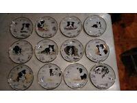 Full set of Danbury Mint by Paul Doyle