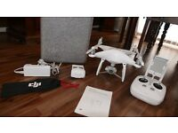 DJI Phantom 4 4K Quad Copter Drone With Blade Guards