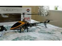 Radio control helicopter 9101