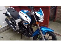 Lexmoto Venom 125 Excellent condition , 5 months old .