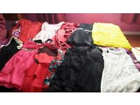 27 dresses various sizes