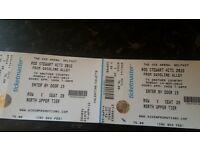Rod stewart tickets x 2