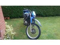Yamaha xt125r needs mot