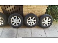 4 seat Leon wheels with tyres (golf, Audi)