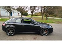 "Alfa Romeo BRERA`S`PRODRIVE 2.2 in black with 19"" wheels."