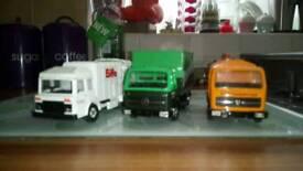Collection of corgi trucks