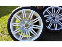 "BMW alloy wheels 19"" Spyders 172M MSport Refurbished"