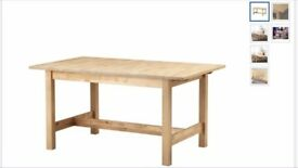 Ikea NORDEN Dining Table for 4-6 people - discontinued
