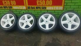 alloys wheels refurbished