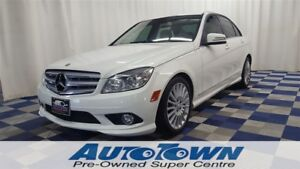 2010 Mercedes-Benz C-Class C250 4MATIC AWD/LEATHER/SUNROOF