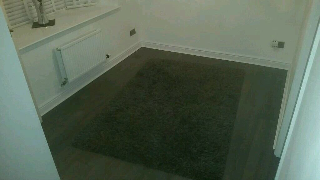 Ikea Gaser Rug High Pile Dark Grey In Cambuslang