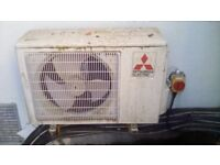 Mitsubishi Air Conditioning 5 used Units inside and outside units
