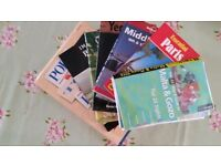 Various Travel Guides and Books