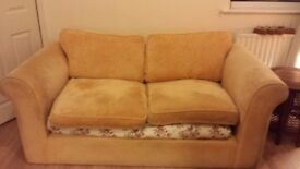 Sofa yellow