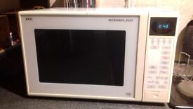 AEG microwave: Micromat-Duo 30TG, can also be used as a grill