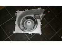 Nissan Xtrail heater blower/fan and housing.